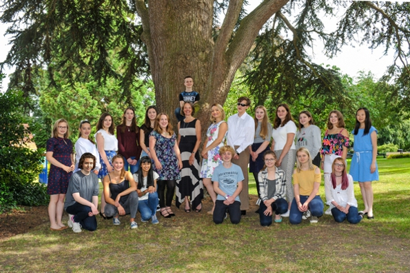 Teenage Harp Course 2016: Tutors and Students