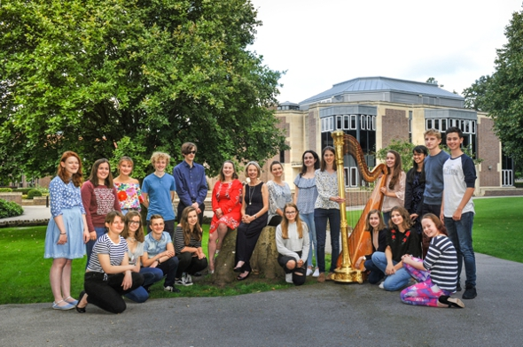 2017 Teenage Harp Course