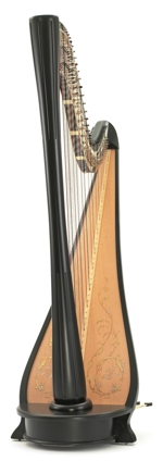 The Malvern Pedal Harp made by Pilgrim Harps
